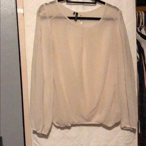 Shear women's blouse